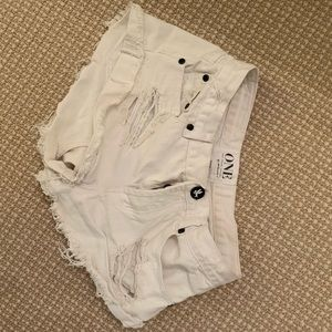 Free People Bandit Shorts